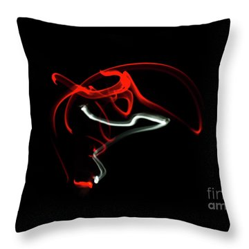 Aikido - Nikyo, Omote Throw Pillow