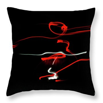 Aikido - Sankyo, Omote Throw Pillow