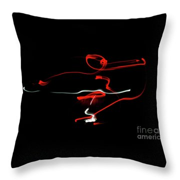 Aikido - Sankyo, Omote Throw Pillow