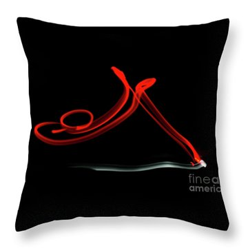 Aikido - Shihonage, Omote Throw Pillow