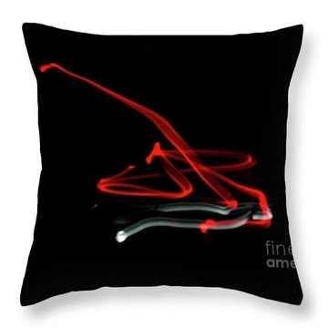 Aikido - Tenchinage, Omote Throw Pillow