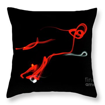 Aikido - Yonkyo, Omote Throw Pillow