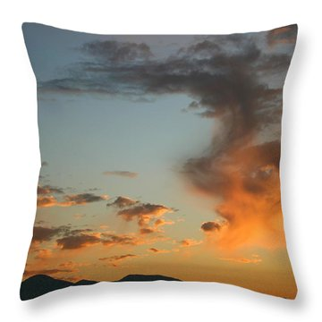 Throw Pillow featuring the photograph Air Ball Cough by Marie Neder