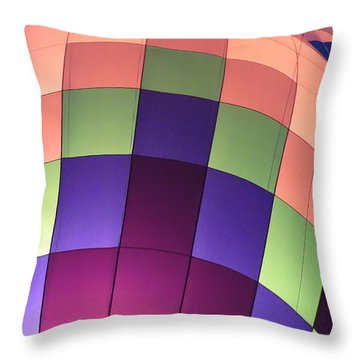 Air Balloon Throw Pillow