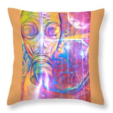 Air Bugs Throw Pillow