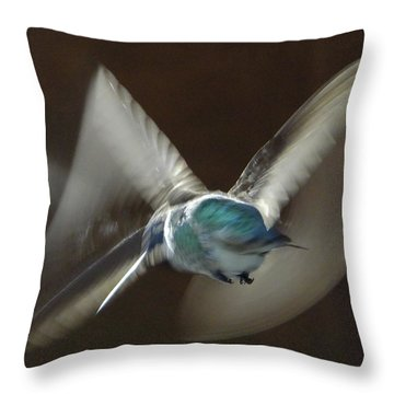 Air Dance Throw Pillow