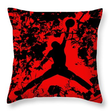 Air Jordan 1b Throw Pillow