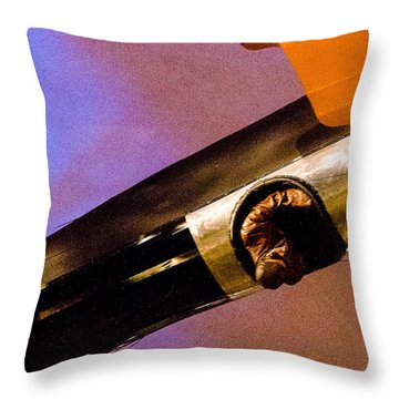 Air Mail Throw Pillow