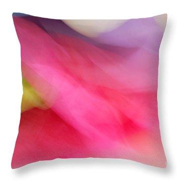 Air Paint Throw Pillow