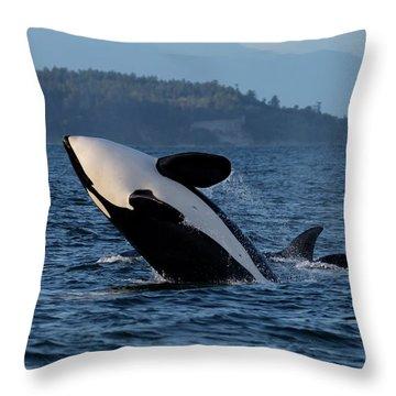 Air Time Throw Pillow