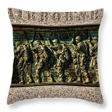 Airborne Throw Pillow by Christopher Holmes