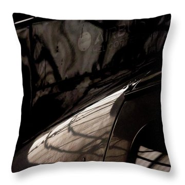 Airbus Throw Pillow by Paul Job