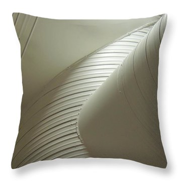 Airconditioned Sculpture Throw Pillow