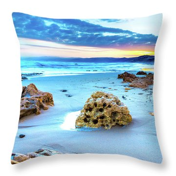 Aireys Inlet Throw Pillow