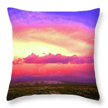 Airgasm Throw Pillow