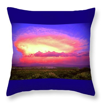 Airgasm Throw Pillow