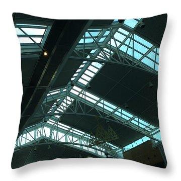 Airport Throw Pillow