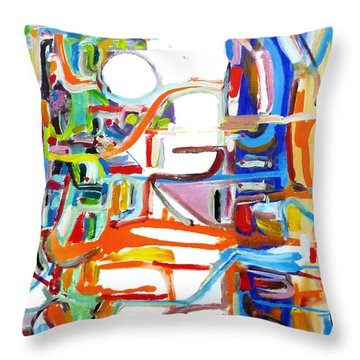 Airshaft Throw Pillow