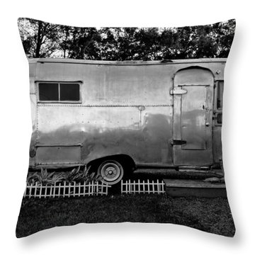 Airstream Life Throw Pillow by David Lee Thompson