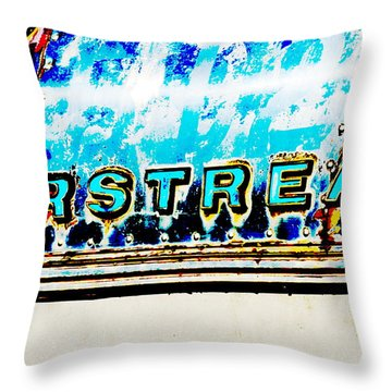 Airstream Throw Pillow by Newel Hunter