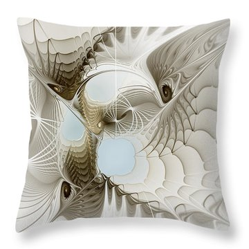Airy Space2 Throw Pillow
