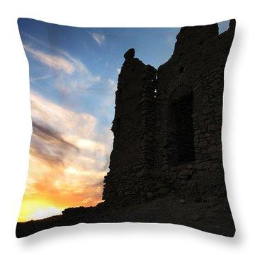 Ait Benhaddou Throw Pillow by Oliver Johnston