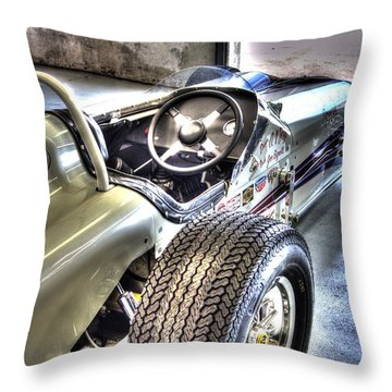 Aj Foyts Roadster Throw Pillow