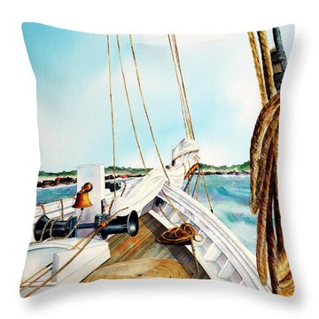 A.j. Meerwald-coming Home Throw Pillow