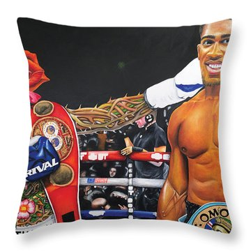 Aj Omo Oduduwa The World Champion Throw Pillow