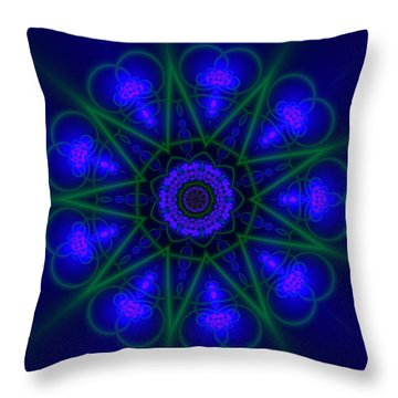 Akbal 9 Beats Throw Pillow