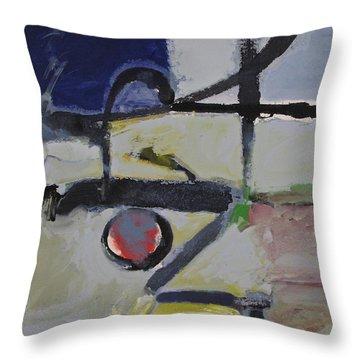 Throw Pillow featuring the painting Akira by Cliff Spohn