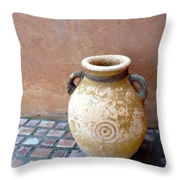 Al Ain Urn Throw Pillow