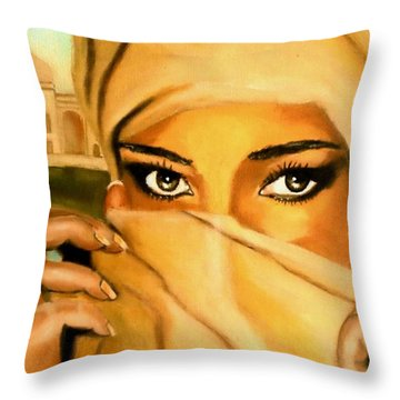 Al-andalus-3 Throw Pillow