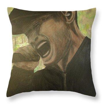 Al Barr Throw Pillow