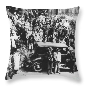 Al Capone (1899-1947) Throw Pillow by Granger