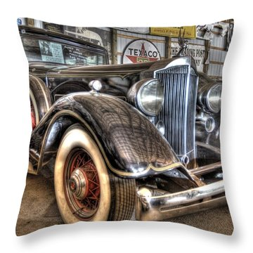 Al Capone's Packard Throw Pillow