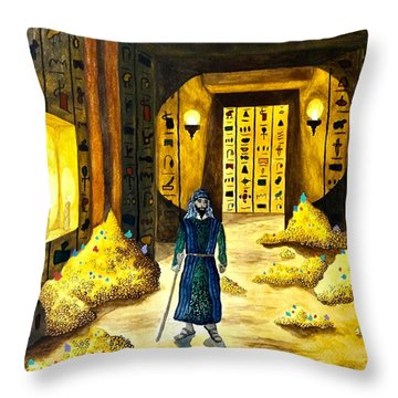 Al Mahmoun In Egypt  Throw Pillow