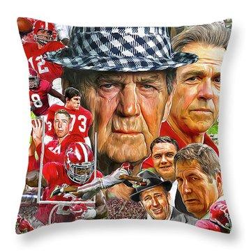 Alabama Throw Pillows