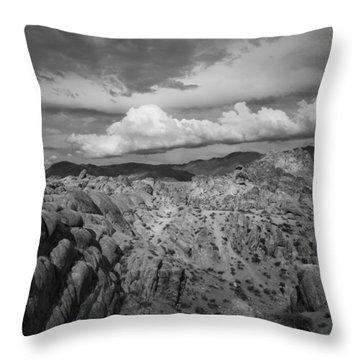 Alabama Hills Storm Throw Pillow