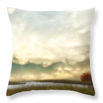 Alan Fresh Creek Throw Pillow