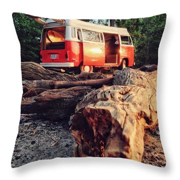 Alani By The River Throw Pillow