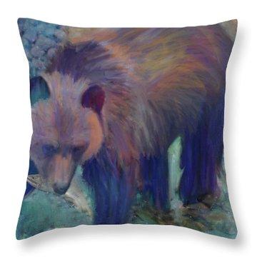 Alaska Bear  Throw Pillow