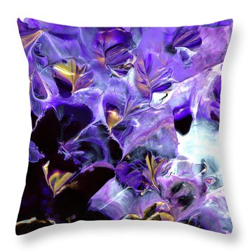Alaska Gold Rush Throw Pillow
