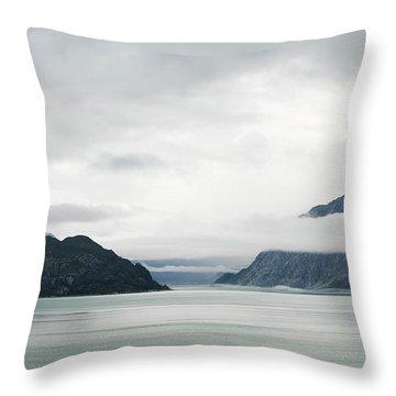Alaska Waters Throw Pillow
