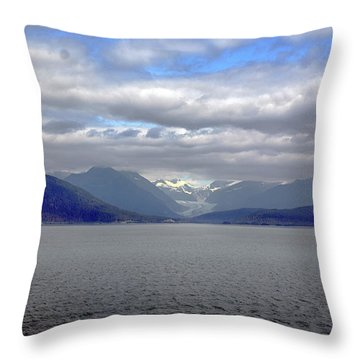 Alaskan Coast 2 Throw Pillow