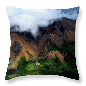 Alaskan Grandeur Throw Pillow