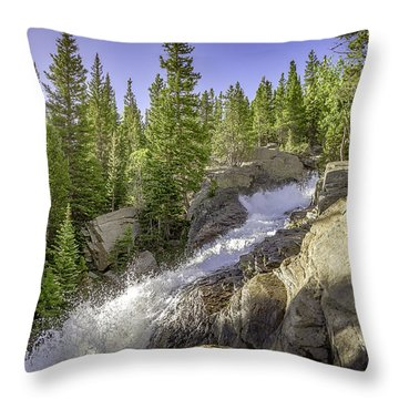 Alberta Falls Throw Pillow