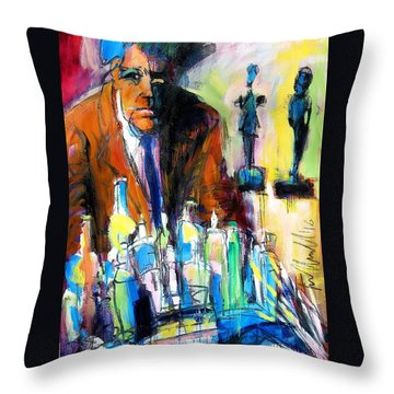 Alberto Throw Pillow by Les Leffingwell