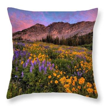 Albion Wild Throw Pillow