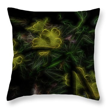 Alchemical Gold Throw Pillow by William Horden